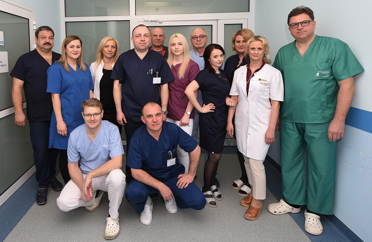 Zespół Oddziału Chirurgicznego Specjalistycznego Szpitala Artmedik Sp. z o. o.